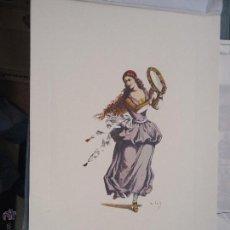 Arte: ANTIGUA LAMINA ARTE COLECCION FARMACIA ROGER Y O INGRO - 33 X 22 CM PUBLICIDAD FARMACEUTICA. Lote 55037401
