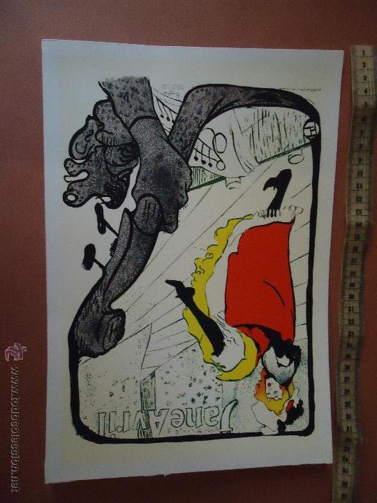 ANTIGUA LAMINA PUBLICIDAD FARMACEUTICA INGRO , JANE AVRIL . (Arte - Láminas Antiguas)