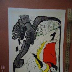 Arte: ANTIGUA LAMINA PUBLICIDAD FARMACEUTICA INGRO , JANE AVRIL . . Lote 55046102