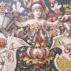 Arte: 6 LÁMINAS ALEMANAS EMBLEMÁTICAS. Lote 55391496