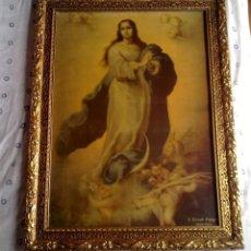 Arte: LAMINA RELIGIOSA CON PRECIOSO MARCO. Lote 56736886