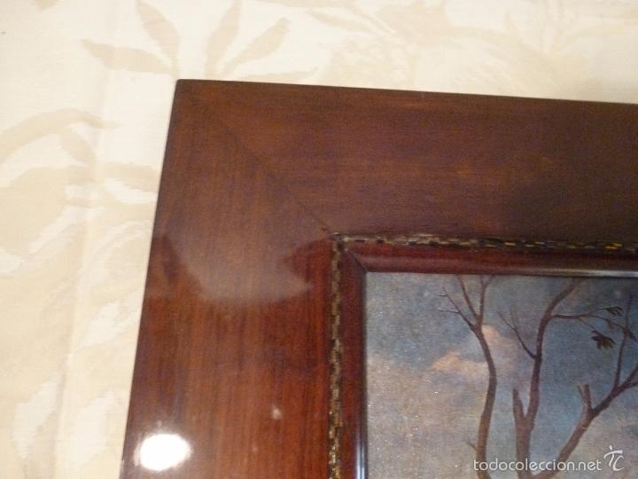 Arte: lamina con marco de caoba - Foto 3 - 57252884