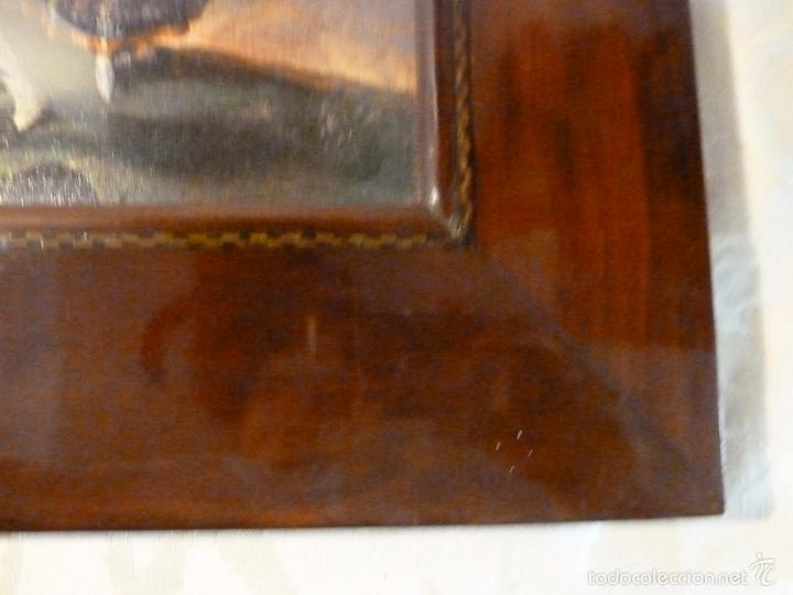 Arte: lamina con marco de caoba - Foto 5 - 57252884