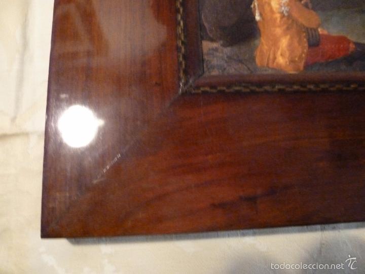 Arte: lamina con marco de caoba - Foto 9 - 57252884