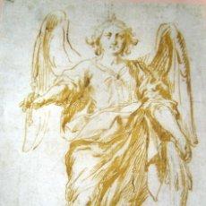 Arte: SAN RAFAEL - ANTONIO DEL CASTILLO - SIGLO XVII - LAMINA - MEDIDAS 27,5 X 39. Lote 57474663