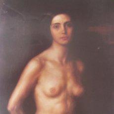 Arte: JULIO ROMERO DE TORRES - LA ESCLAVA - LAMINA - MEDIDAS 27,5 X 40. Lote 57495524
