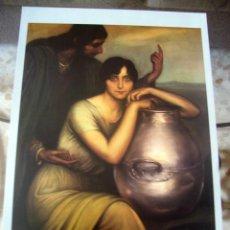 Arte: JULIO ROMERO DE TORRES - SAMARITANA - LAMINA - MEDIDAS 27,5 X 40. Lote 57496006