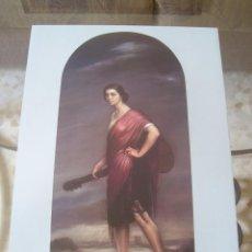 Arte: JULIO ROMERO DE TORRES - LA COPLA - LAMINA - MEDIDAS 27,5 X 40. Lote 57496058