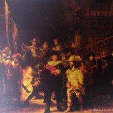 Arte: REMBRANDT - LA RONDA DE NOCHE (1642) - LAMINA - MEDIDAS 34 X 43. Lote 57572658
