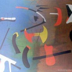 Arte: JOAN MIRO - COMPOSICION - LAMINA - MEDIDAS 34 X 43. Lote 57573059
