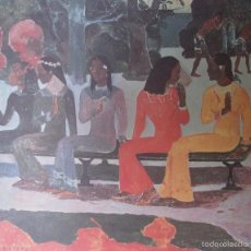 Arte: PAUL GAUGUIN - TA MATETE (1892) - LAMINA - MEDIDAS 34 X 43. Lote 57578256