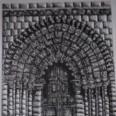 Arte: IGLESIA DE LA MAGDALENA ZAMORA ALFONSO BARTOLOME,32 X 24.. Lote 57628251