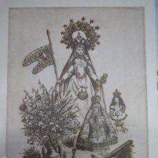 Arte: VIRGEN DE LA CONCHA ,ANTONIO PEDRERO,40 X 28.. Lote 57704475
