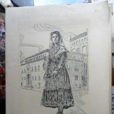 Arte: CARPETA DE GRABADOS SALAMANCA, ZAMORA Y VALLADOLID. Lote 120616435
