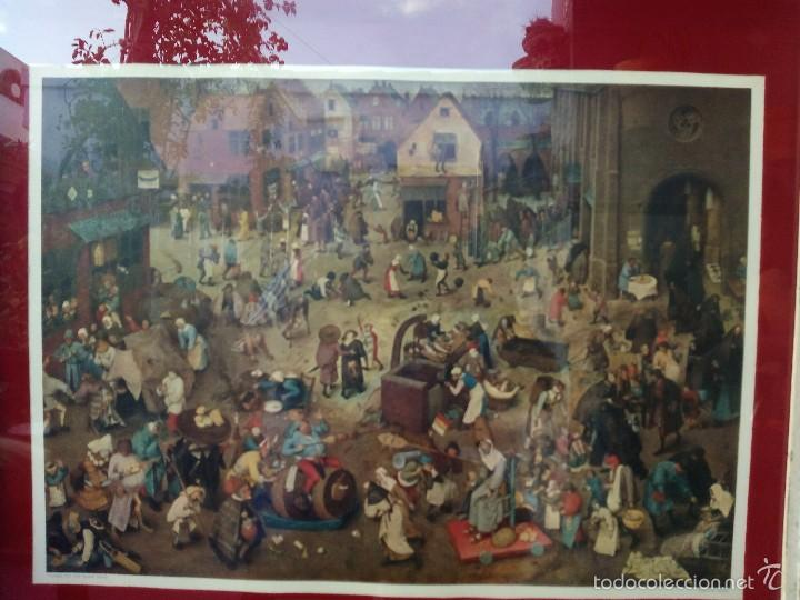 Arte: Lamina Enmarcada Brueghel - Carnaval - New York Graphic Society - Foto 2 - 57915226