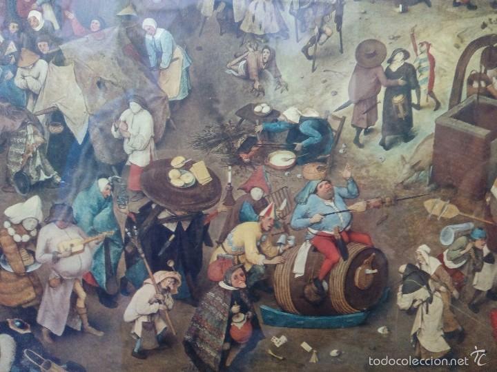 Arte: Lamina Enmarcada Brueghel - Carnaval - New York Graphic Society - Foto 3 - 57915226