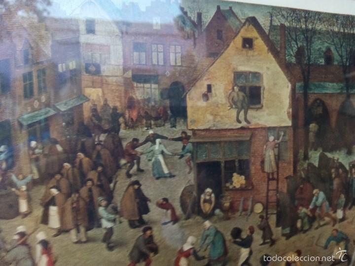 Arte: Lamina Enmarcada Brueghel - Carnaval - New York Graphic Society - Foto 4 - 57915226