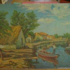 Arte: LAMINA LA ALBUFERA VALENCIA. Lote 58129347