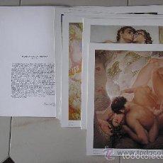 Arte: 8 LAMINAS DE GRAN CALIDAD DE : EL POEMA DE LA TIERRA. DEL ARTISTA CANARIO NESTOR.. Lote 58493272