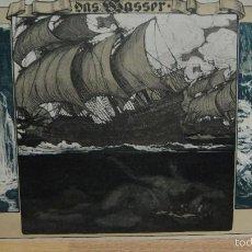 Arte: ALEGORIA - DAS WASSER ( ACUATICO, EL AGUA ). Lote 58525968