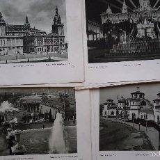 Arte: LOTE DE 44 LÁMINAS. FOTOGRAFIA. EXPOSICIÓN INTERNACIONAL DE BARCELONA. AÑO 1929. Lote 59776712