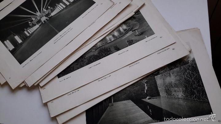 Arte: Lote de 44 láminas. Fotografia. Exposición Internacional de Barcelona. Año 1929 - Foto 5 - 59776712
