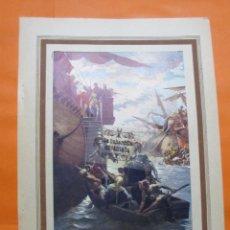 Arte: LAMINA - EXPEDICION REY PEDRO III A ORIENTE. Lote 60292763