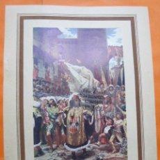 Arte: LAMINA - ENTRADA PRINCIPE DE VIANA EN BARCELONA 1461. Lote 60292931