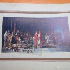 Arte: LAMINA - ORIGEND DE LA UNIVERSIDAD DE BARCELONA. Lote 141769669