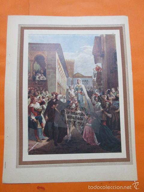LAMINA - ENRIQUE IV DE CASTILLA Y SU HERMANA ISABEL LA CATOLICA (Arte - Láminas Antiguas)