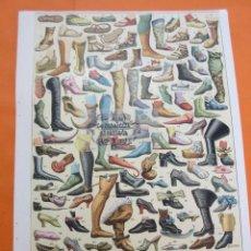 Arte: LAMINA - EL CALZADO. Lote 64402298