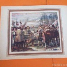 Arte: LAMINA - LA RENDICION DE BREDA. Lote 60379007