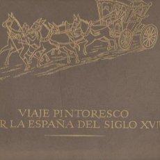 Arte: VIAJE PINTORESCO POR LA ESPAÑA DEL SIGLO XVIII - CARPETA 12 LÁMINAS. Lote 60492679