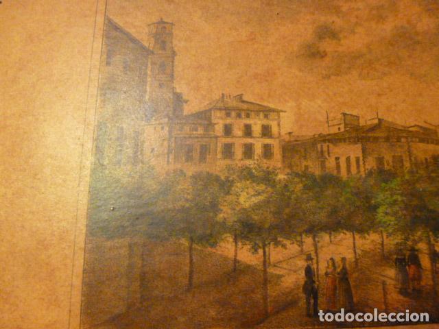 Arte: lamina Mallorca palma plaza del mercado - Foto 6 - 63793575