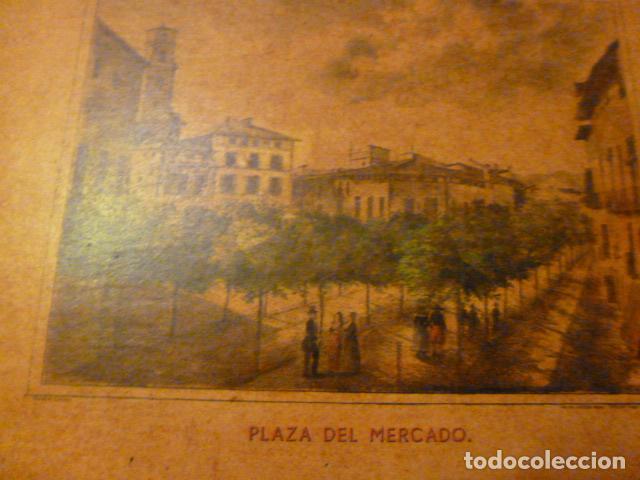 Arte: lamina Mallorca palma plaza del mercado - Foto 7 - 63793575