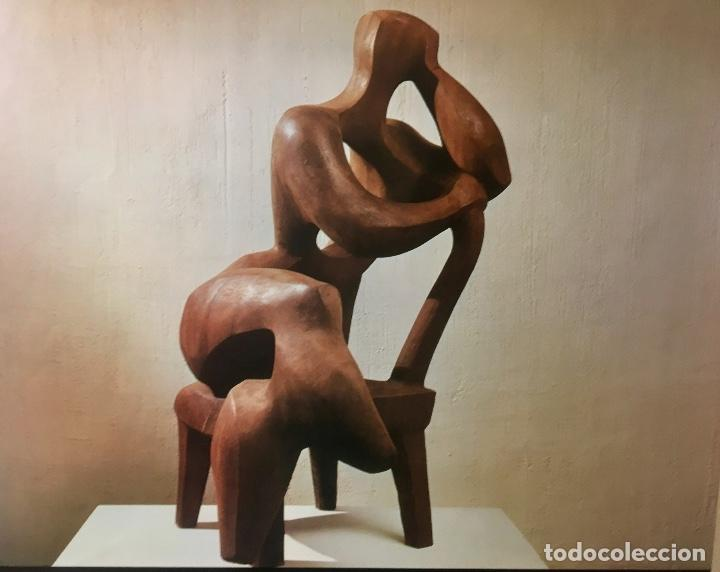 Arte: foto offset obra joaquin garcia donaire madera tallada años 60 70 44x52cms - Foto 4 - 65654926