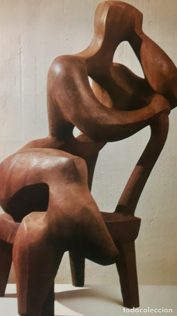Arte: foto offset obra joaquin garcia donaire madera tallada años 60 70 44x52cms - Foto 7 - 65654926