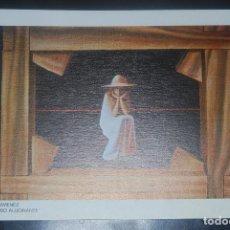 Arte: VIDAL JIMENEZ - INCLUSO ALUCINANTE - LAMINA / LITOGRAFIA - 24X17CM. AÑOS 80. Lote 67181229