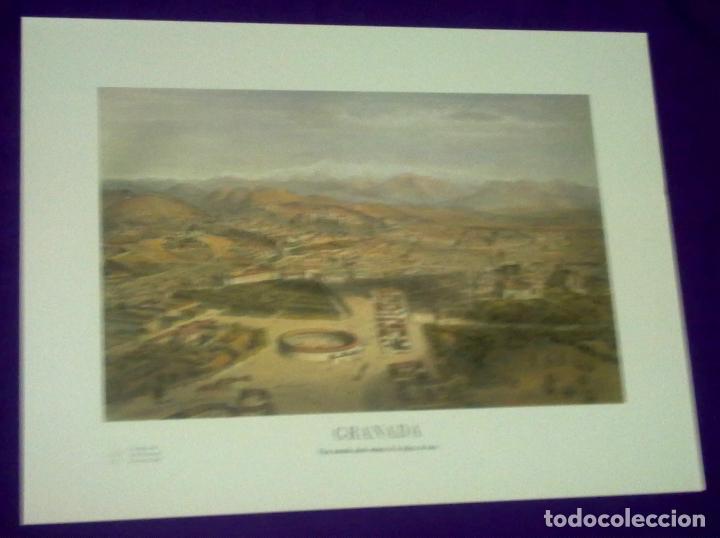 Arte: CIUDADES ANDALUZAS A VISTA DE PAJARO. - Foto 6 - 68610609