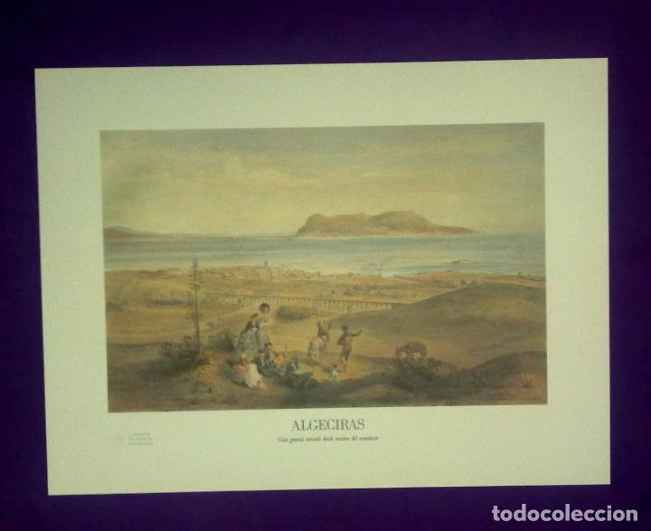 Arte: CIUDADES ANDALUZAS A VISTA DE PAJARO. - Foto 7 - 68610609
