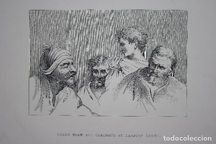 Arte: Cabezas. Lámina Siglo XIX (S.XIX). Cuadro. - Foto 7 - 49750808
