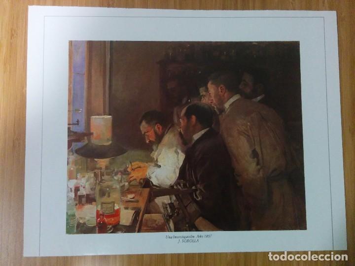LAMINA JUAQUI SOROLLA 1897 (Arte - Láminas Antiguas)