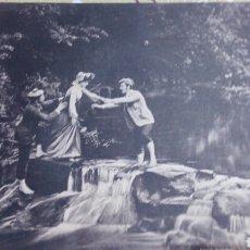 Arte: ANTIGUA LÁMINA RAPHAEL TUCK & SONS. FOTOGRAFÍA DE LYDDELL SAWYER. THE RIVALS. 21X16 CM. Lote 71227107
