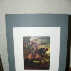 Arte: CARLOS V A CABALLO EN MÜHLBERG - LÁMINA - . Lote 73689803