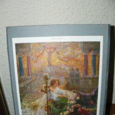 Arte: ANTIGUA LÁMINA - SEGUN UN FRESCO - CARLO AGAZZI. Lote 73695551