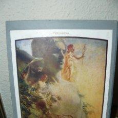 Arte: ANTIGUA LÀMINA DEL DISEÑADOR GIUSEPPE PALANTI - PERGAMINO. Lote 73699531