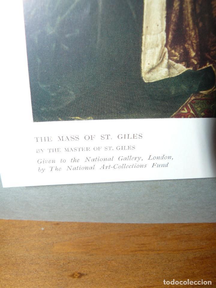Arte: Antigua lámina - the mass of st giles - - Foto 5 - 73705275