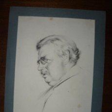 Arte: LÁMINA - GILBERT KEITH CHESTERTO - 1933. Lote 74874695