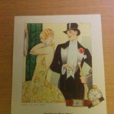 Arte: CARTEL LAMINA ARTE MODERNISTA 1928. Lote 75003859