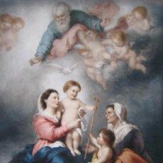 Arte: MURILLO. VIRGEN DE SEVILLA. MUSEO DEL LOUVRE CIRCA 1920. 22X28 CMS.. Lote 75554435